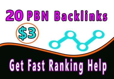 23 Homepage PBN using high DA PA To Get Fast Ranking