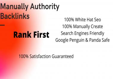 Latest & Manually Done 15 high authority quality SEO dofollow backlinks