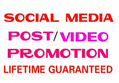 Promote Your posts or pictures to the real people instantly
