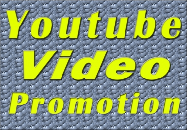 Real YouTube video promotion in 24 Hours