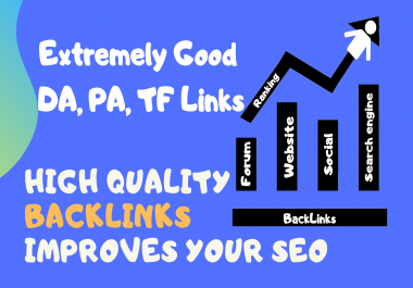 Create 250 Unique Domain High Quality Backlinks Improves Your SEO