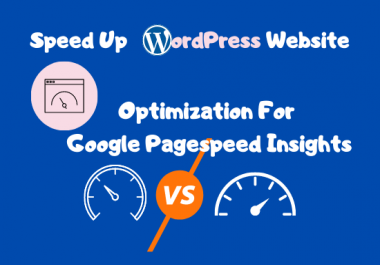 speed up wordpress website and optimization for google pagespeed insights