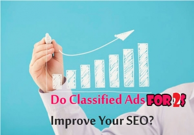 Get promote 20 high authority Classified backlink