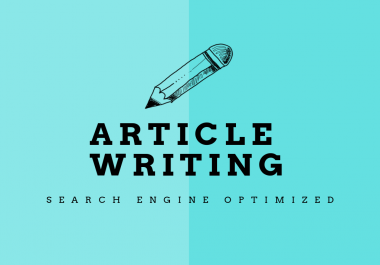 Get 3x500 words of SEO and reader friendly unique articles for your website/blog
