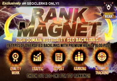 Google Rank Magnet with top high DA SEO backlinks Service