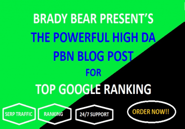 High Quality Dofollow PBN SEO Backlinks to Improve Google Ranking