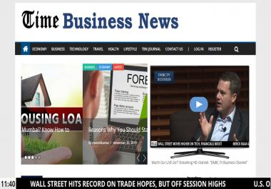 Guest post on Tech Business News site Timebusinessnews.com Da35