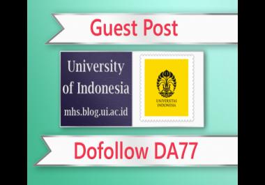 Guest post on Indonesia EDU- .blog.ui.ac.id - DA77