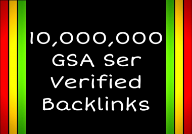 Submit your sites/links On 10 Million low to Medium sites by GSA