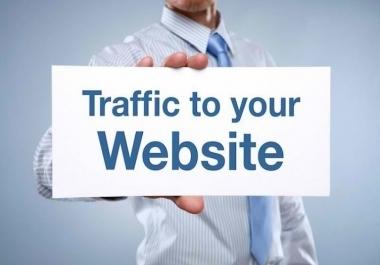 100,000 Website traffic worldwide