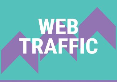 400,000 Website worldwide traffic