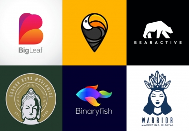 i will create professional logo in 4 hour