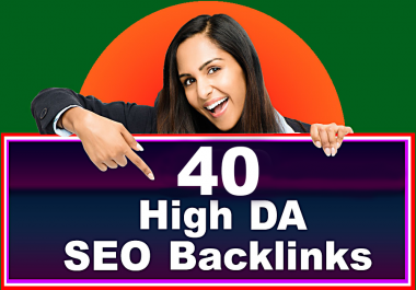 Manually create 40 High DA PR9 Profile Backlinks