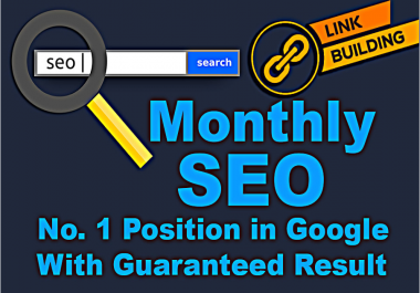 monthly SEO service and everyday backlinks,edu link building