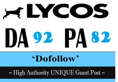 Publish Guest Post On Lycos.com DA 92 (Get free Medium.com DA 96)