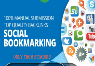 TOP 20 PR8 to PR5 Safe High Alexa Rank Social Bookmark Backlinks