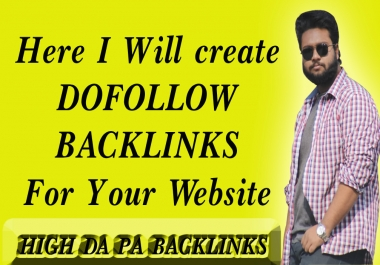Do 25 Profile Backlinks On High PR,Da Sites And SEO Audit