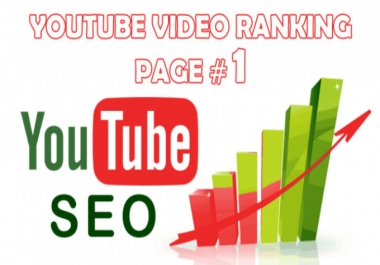 Skyrocket your video in first pages on Youtube & Google