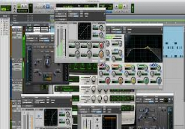Learn how to produce a track in Pro Tools LE or MP or HD