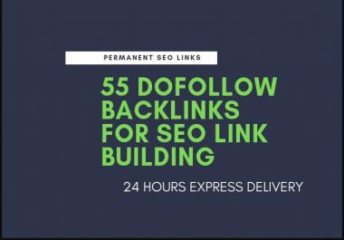 Do 55 Dofollow Backlinks For SEO Link Building