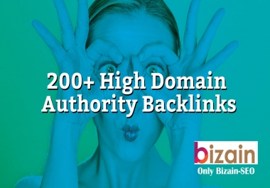 TOP-I Will Create Over 200+ Backlinks On High Domain Authority Backlinks ONLY BIZAINSEO