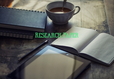 Writing stellar research article and research papers