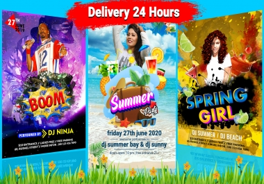 Design Professional Flyer and Poster For Your Business
