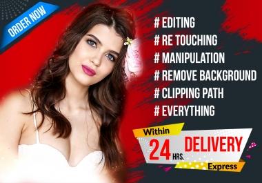 I will create professional photo manipulation or any photoshop work