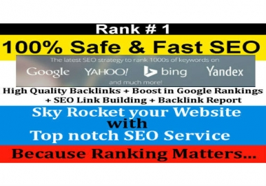 Rank Your Site High In Google Ranking