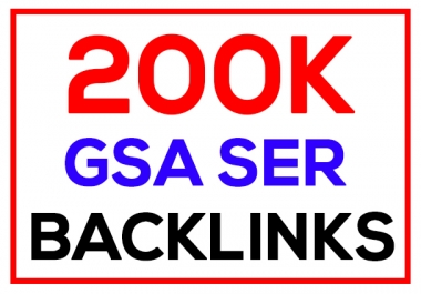 200k GSA SER High Quality Backlinks Ultimate SEO for Ranking on Google
