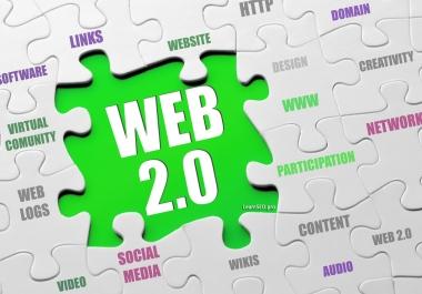 Manual web 2.0 promotion 40 backlink skyrocket for your website 2020update