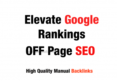 Boost Your Ranking On Google Monthly back-links white hat manual link building service