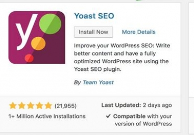 Wordpress Yoast onsite SEO Optimization