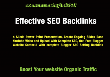 2020 Most Effective SEO Back-links To Boost Your Website Organic Traffic