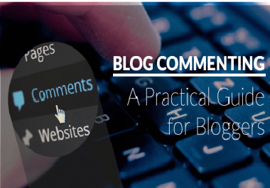 I provide 500 blog comment dofollow off page SEO