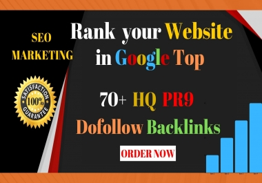 Create Manually 70+ PR9 DA 90 Dofollow Profile Backlinks