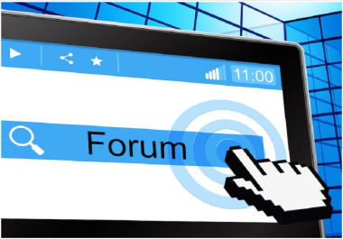 Do 35+ High Quality Forum Posting Backlink For You