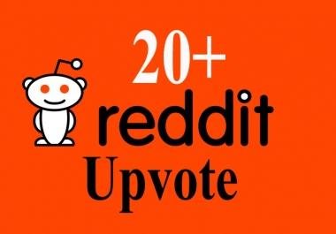 Buy 20+ Reddit Upvots For Your Post