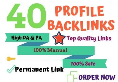 40 Pr9 - 80+ DA High Quality SEO Domain Authority Permanent Backlinks