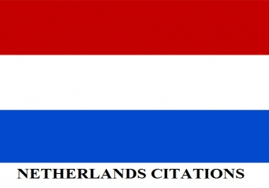 Get Accurate 50 Best NETHERLANDS Local Citations