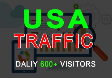 i will drive Real 20k Usa web traffic from social media