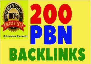 I Will Provide 200 PBN Links Dofollow Backlinks High DA,PA,TC,CF, Sites