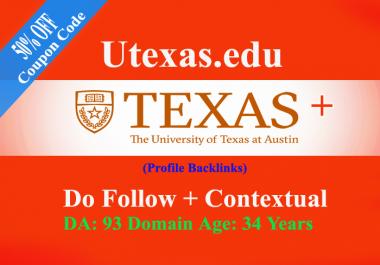 EDU and GOV Backlinks - USA Universities & College - Dofollow - Contextual Profile Backlinks