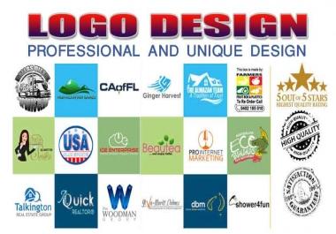 Premium Quality, Professional and Unique Logo Design