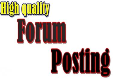 2100 + forum posting Backlinks Ranking on Google
