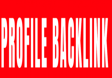 Buy 135++ Profile backlinks great for off page SEO ranking quality and contextual