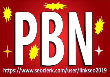 i will do 100 home page pbn backlinks on high da pa