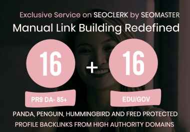 16 Pr9 + 16 Edu - Gov High Pr SEO Authority Backlinks Fire Your Google Ranking