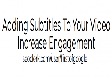 Video Maker Add Subtitles To Your Video
