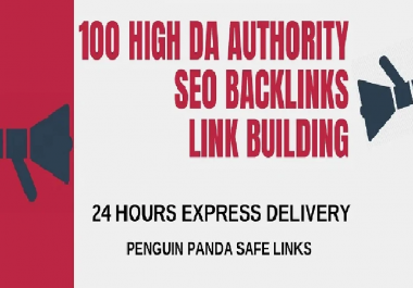 I will create 100 high pr backlinks, tier seo link building